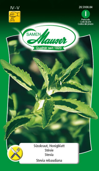 Süsskraut, Honigkraut, Stevia