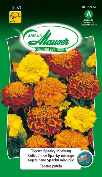 Tagetes Sparky Mischung
