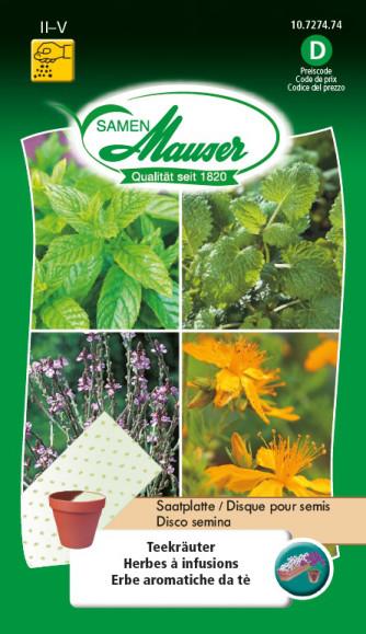 Disque pour semis Herbes à infusions
