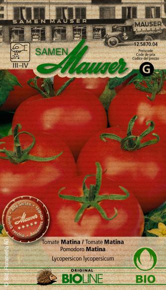 Knospe Bio Tomate Matina