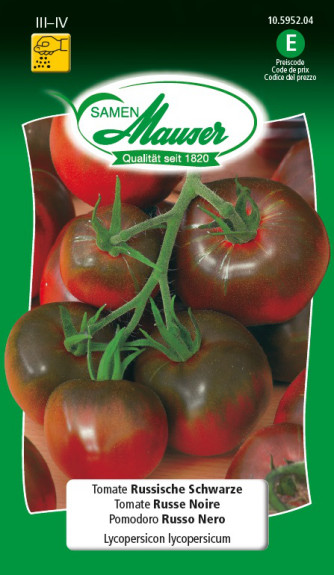 Tomate Russische Schwarze