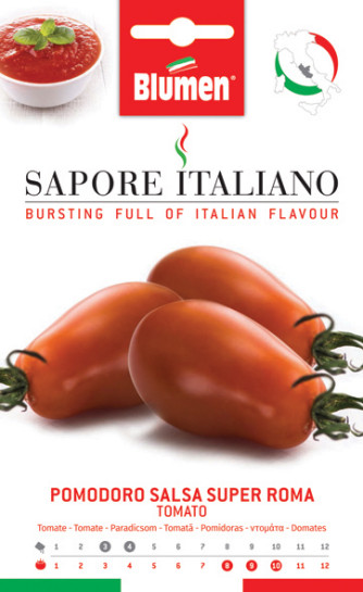 Tomate Salsa Super Roma
