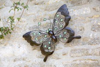 Wand-Dekoration Schmetterling XL