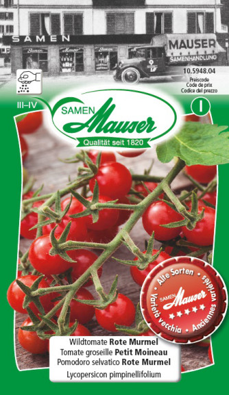 Tomate sauvage Marbre rouge