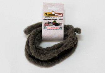 GardenWool® Wollkordel grau